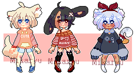 Pixel adopts !! ( closed ) by mikaryu