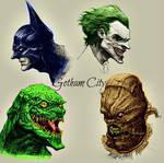 Batman and some Batman villains
