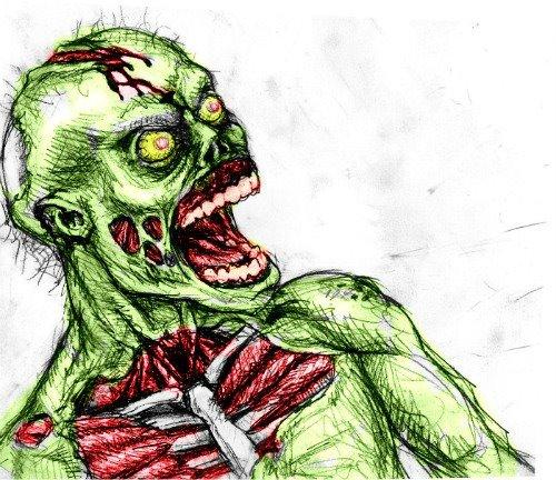Zombie by jokercrazy
