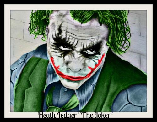 Heath Ledger Joker by jokercrazy