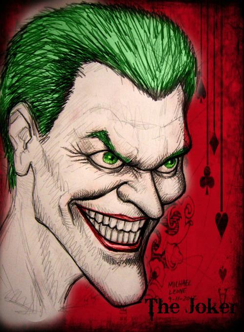 Joker Portrait by jokercrazy