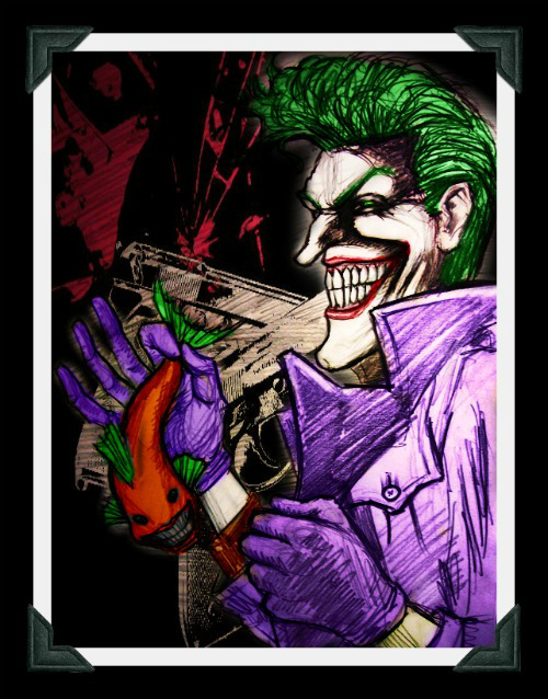 Joker: Laughing Fish by jokercrazy