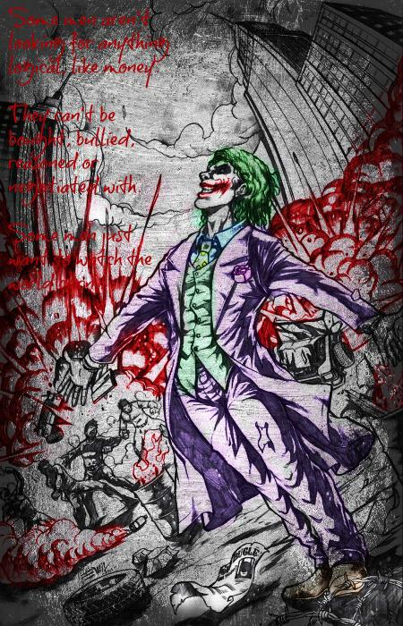 Joker Commission by jokercrazy