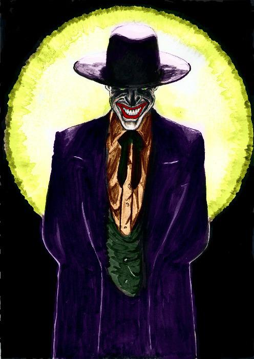 Joker in the Spotlight by jokercrazy