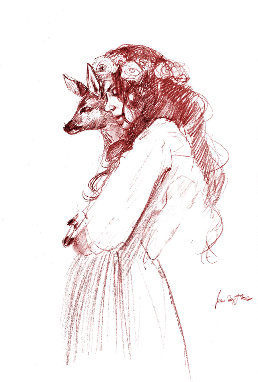 daily sketch 1087 by nosoart