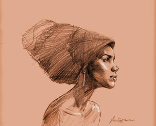 daily sketch 1099 by nosoart