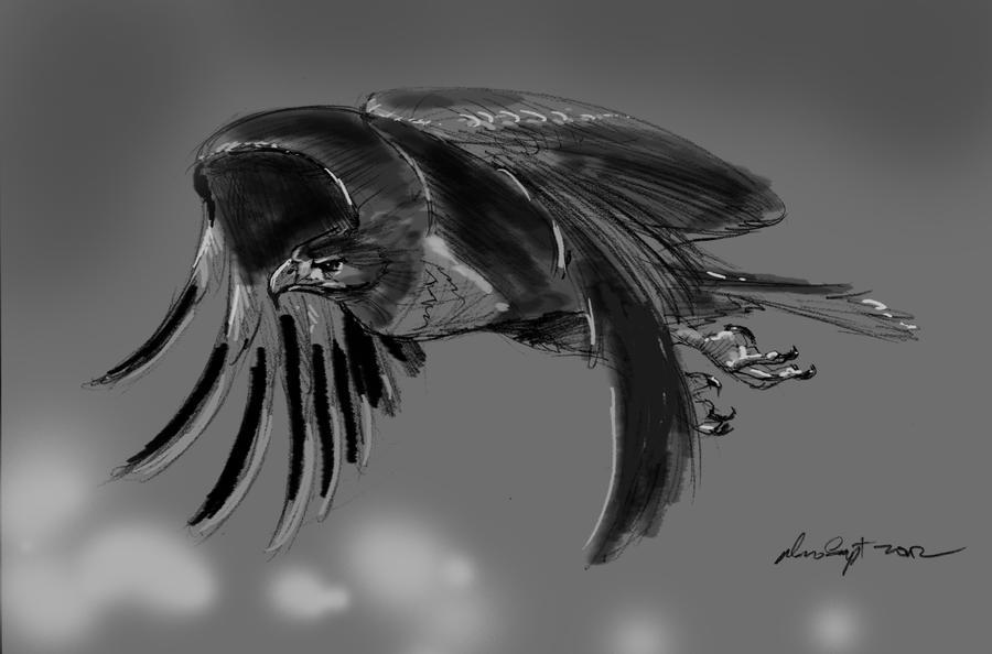 daily sketch 1156 by nosoart