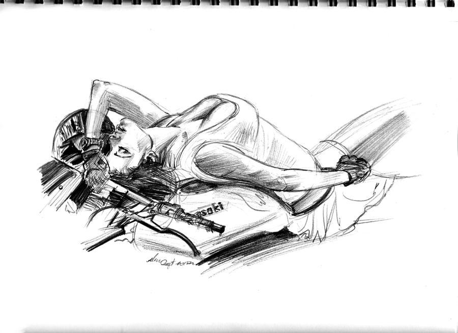 daily sketch 1190 by nosoart
