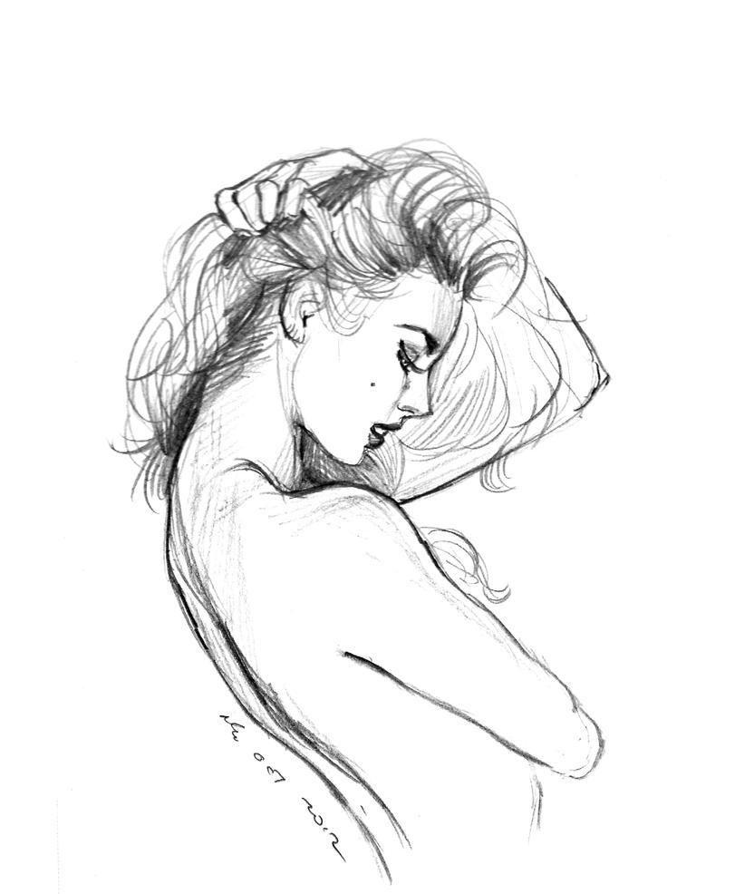 daily sketch 1390 by nosoart