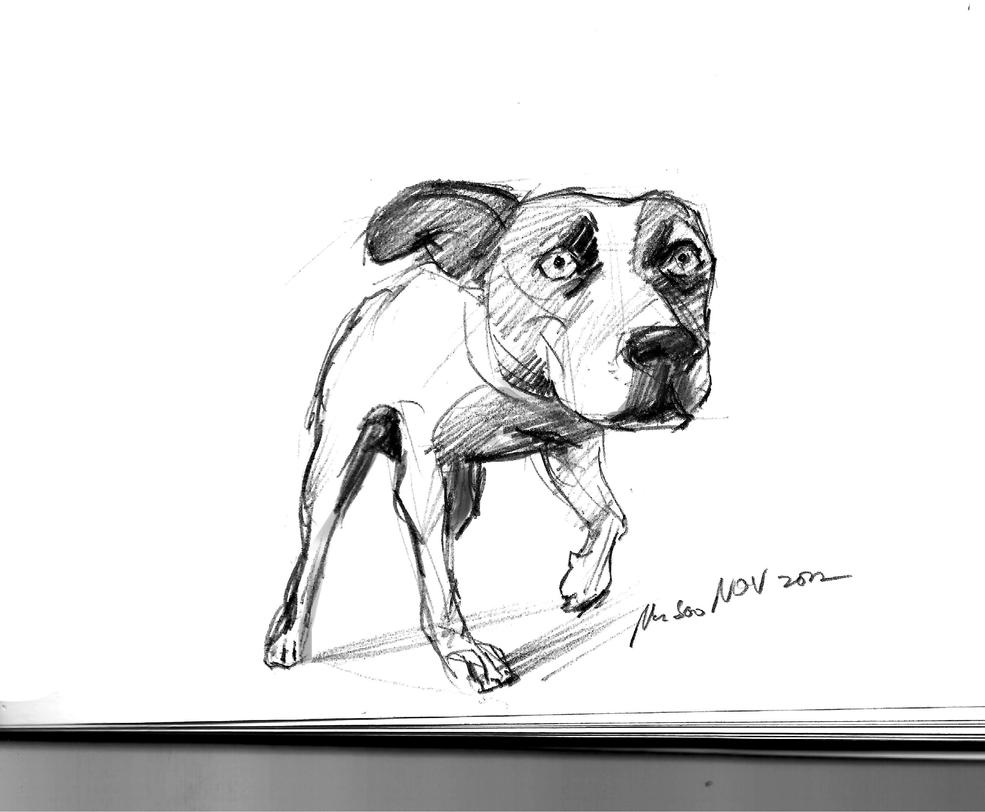 daily sketch 1601 by nosoart