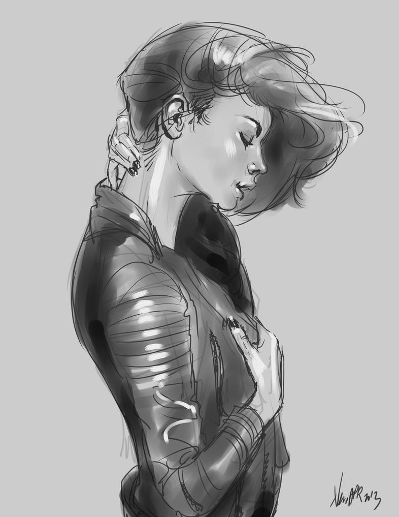 daily sketch  2300 by nosoart