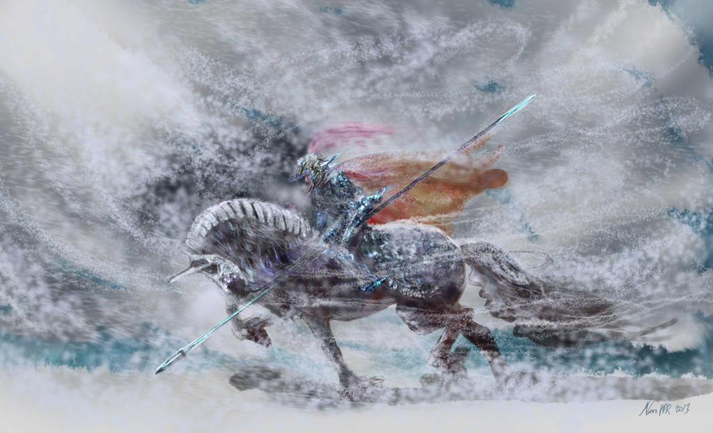 Friesian Horse Paintings Friesian War Horse by Nosoart