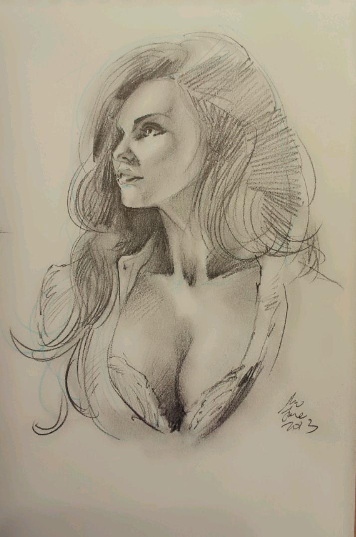 daily sketch 2451 by nosoart