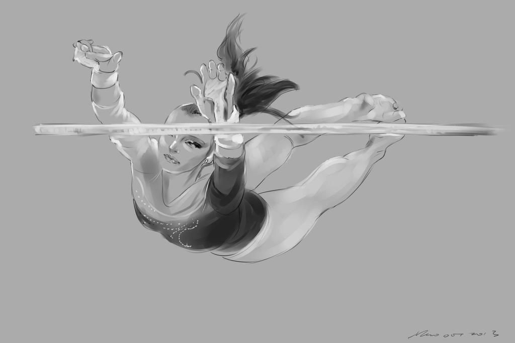 daily sketch  2722 by nosoart