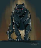 mandatory daily cat sketch  3099 by nosoart