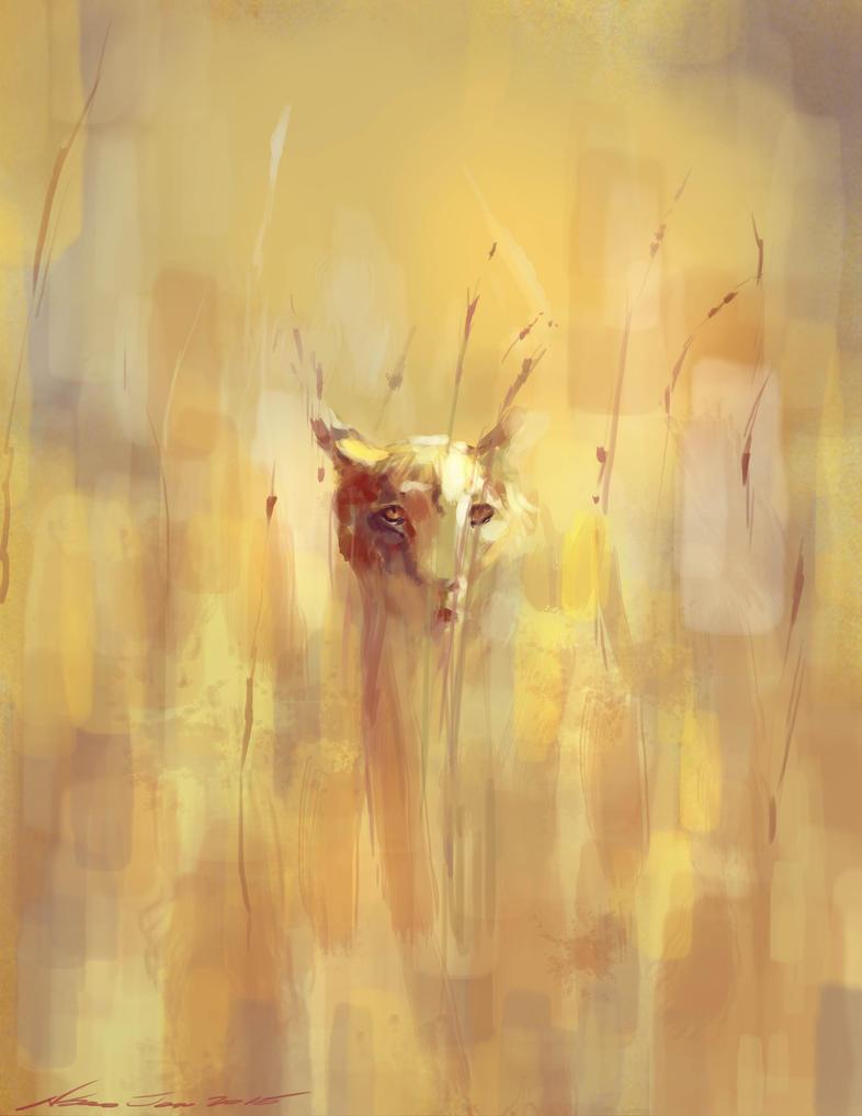 mandatory daily cat sketch 3744 by nosoart