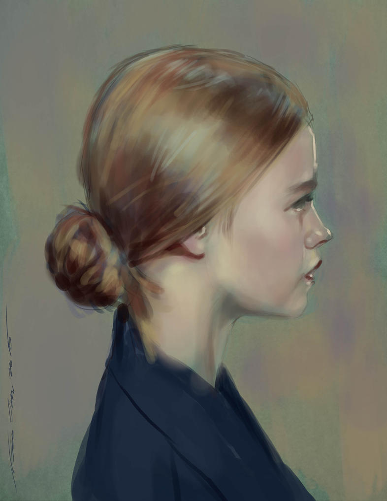 daily sketch 3751 by nosoart