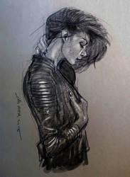 daily sketch 4018 by nosoart