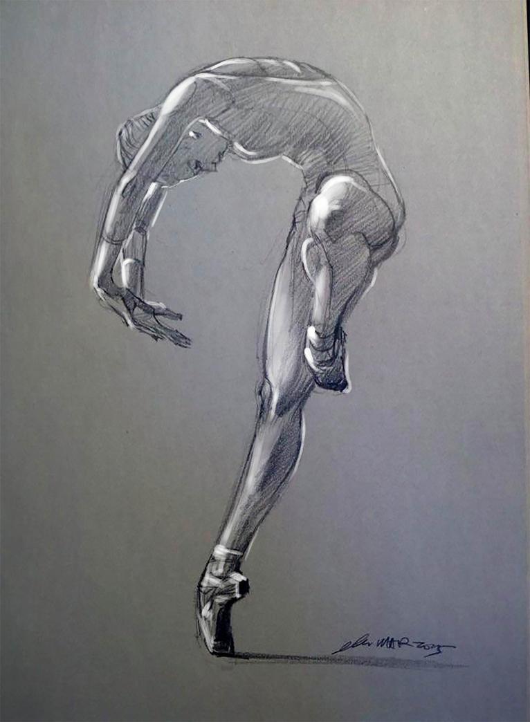 daily sketch 4024 by nosoart