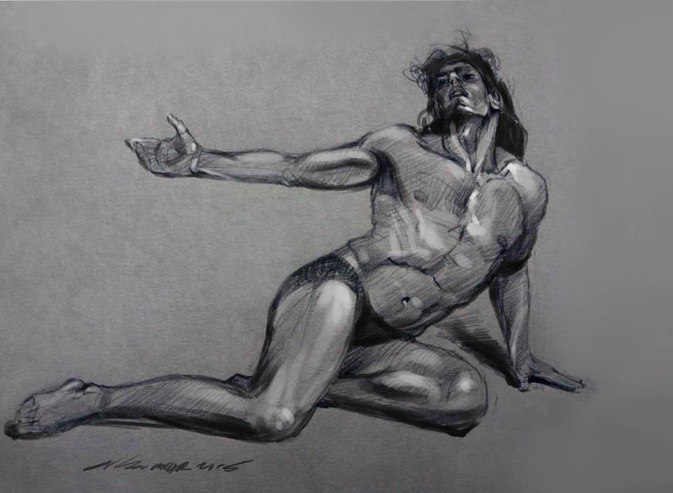 daily sketch 4026 by nosoart