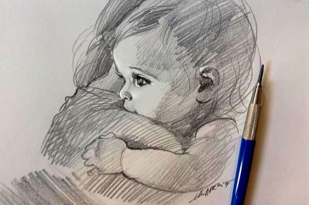 daily sketch 4081 by nosoart
