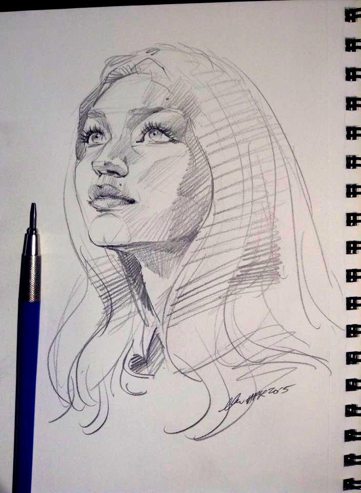 daily sketch 4082 by nosoart