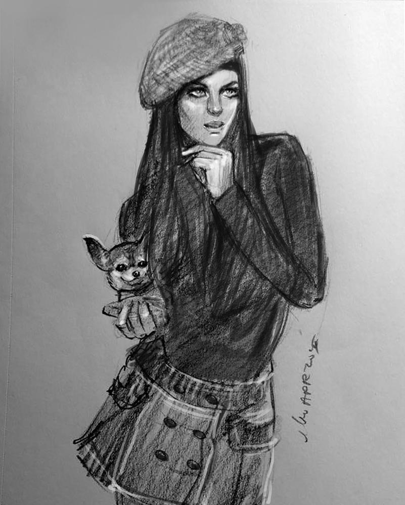 daily sketch 4083 by nosoart