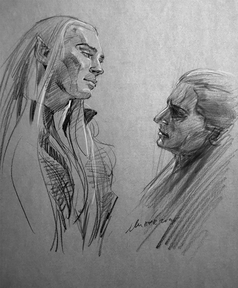 daily sketch 4084 by nosoart