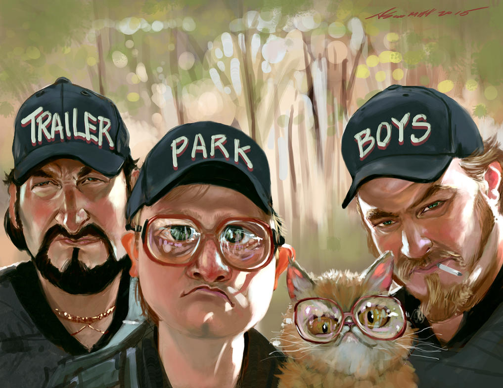 Trailer Park Boys PS by nosoart