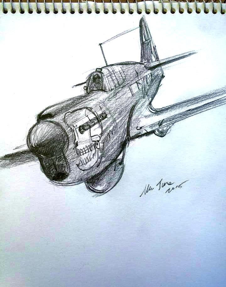 daily sketch 4160 by nosoart