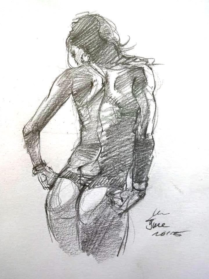 daily sketch 4161 by nosoart