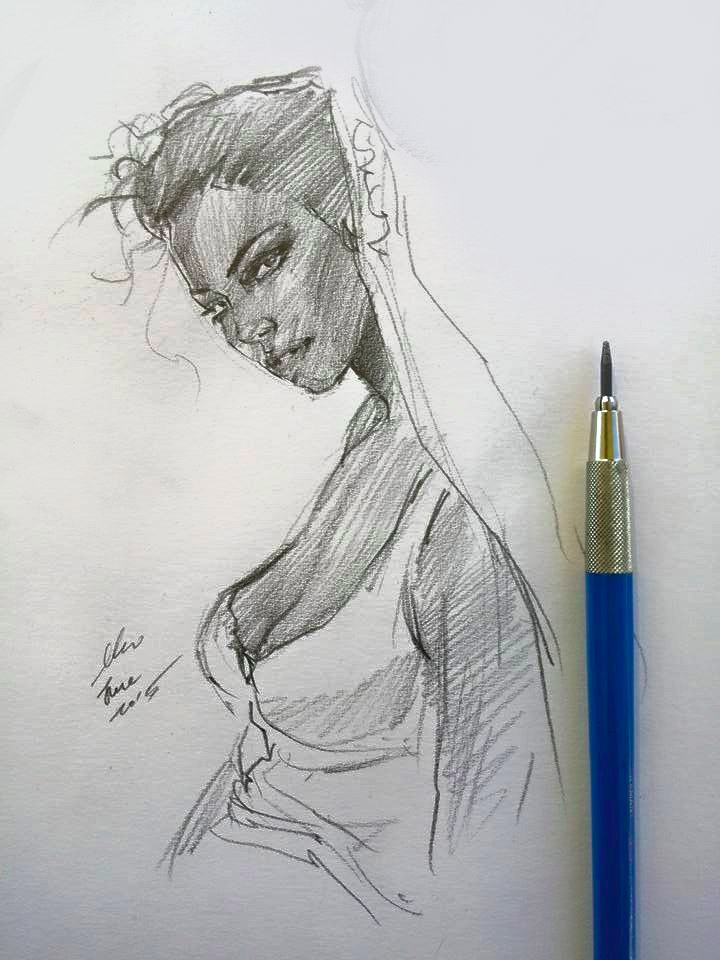 daily sketch 4162 by nosoart