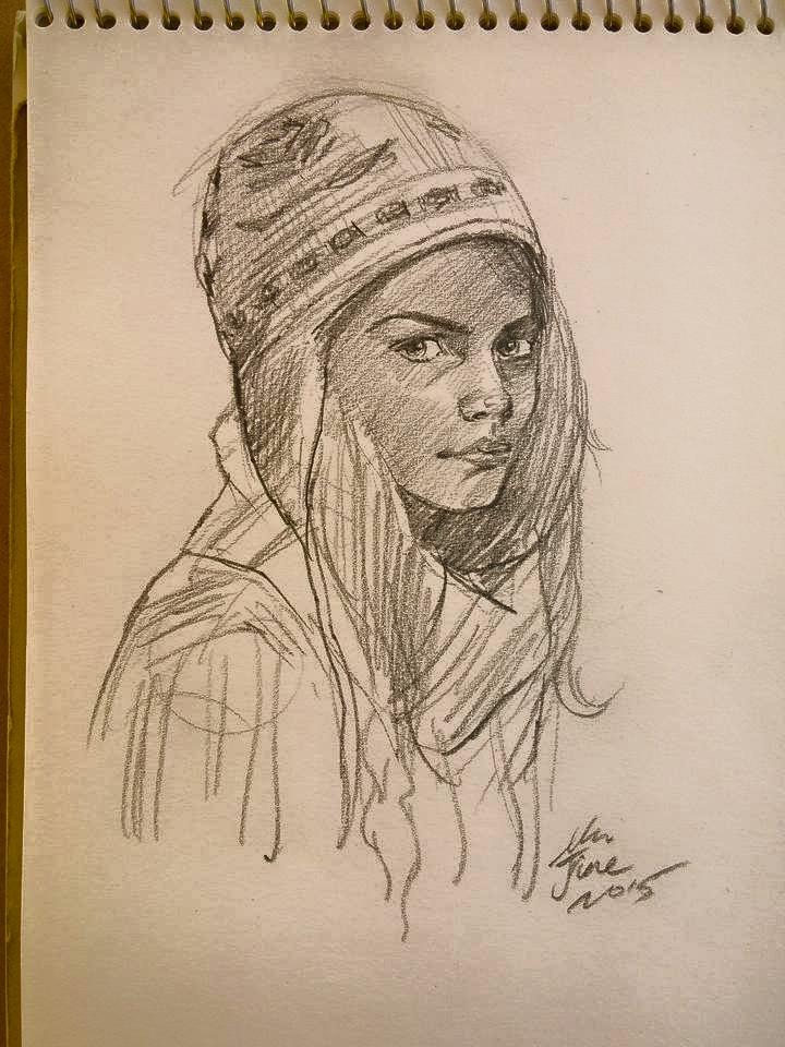 daily sketch 4163 by nosoart