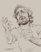 daily sketch 4337 by nosoart