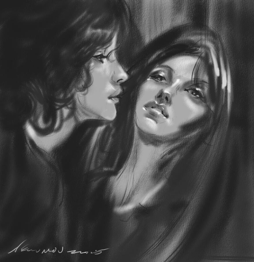 daily sketch 4343 by nosoart