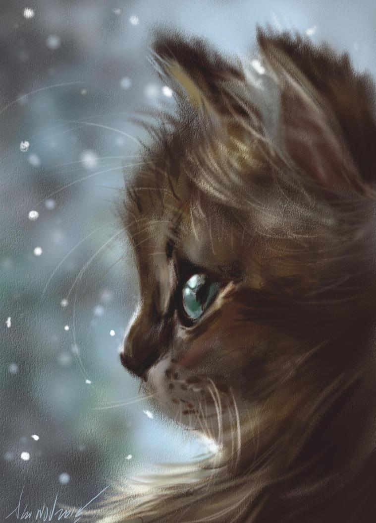 mandatory daily cat sketch 4344 by nosoart