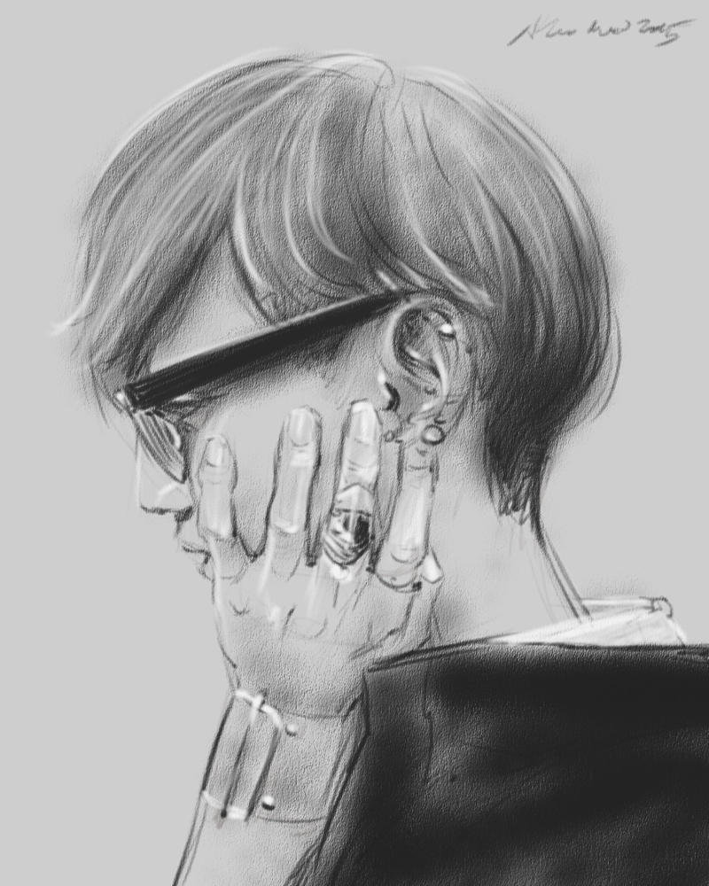 daily sketch 4345 by nosoart
