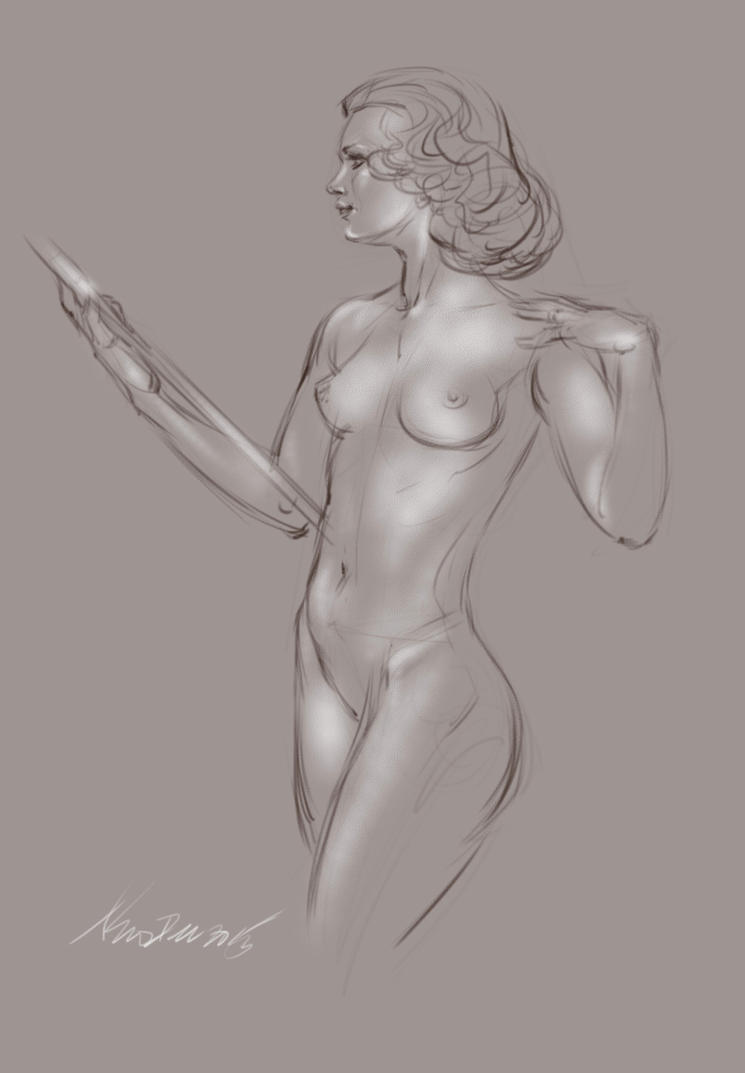 daily sketch 4410 by nosoart