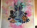 Blueberry dragon finish