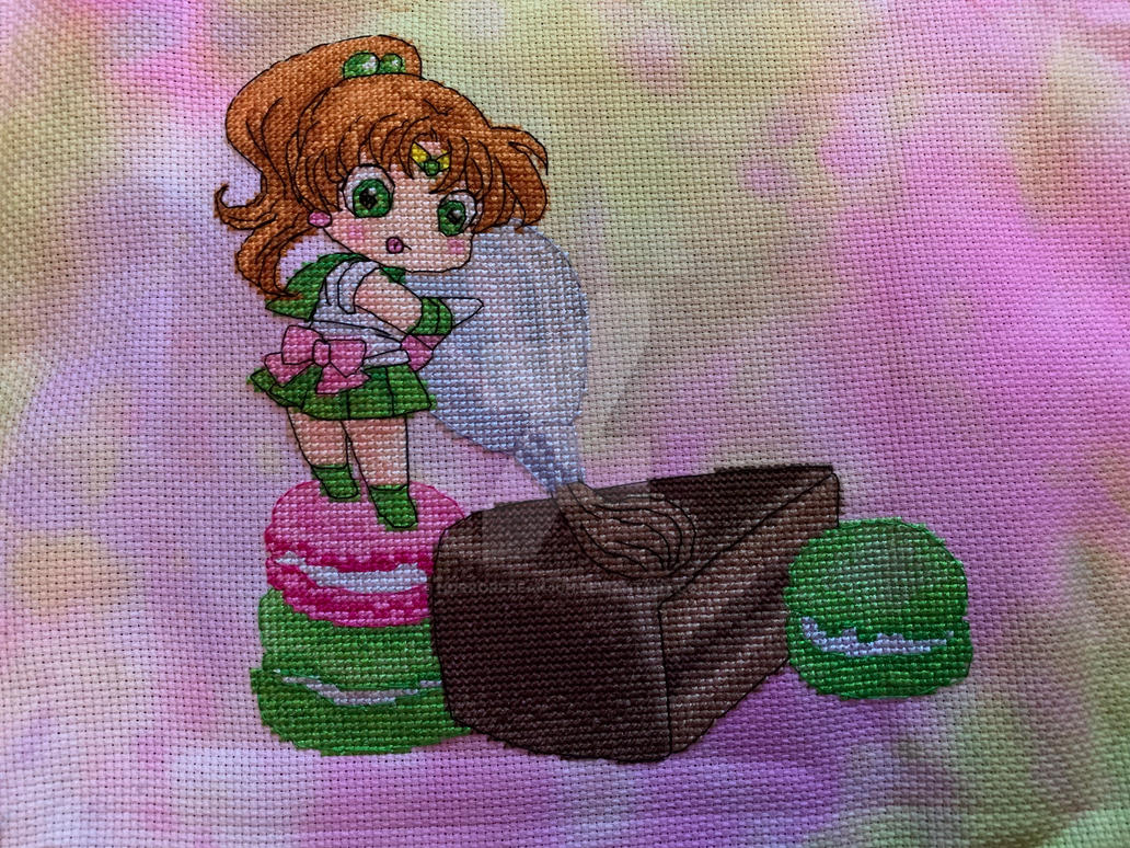 Sailor Jupiter finish by horrorfreakjuh