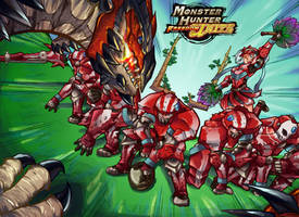Monster Hunter- Foot Wyvern Egg