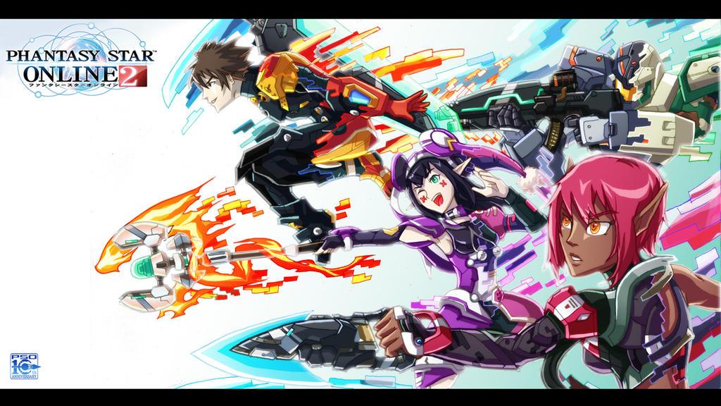 Phantasy Star Online Wallpaper: Phantasy Star's Legacy By Hakuramen On DeviantArt