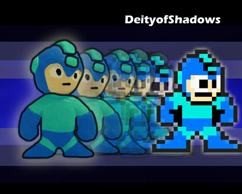 Mega Man Nostalgia by Hakuramen