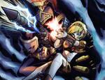 Persona 3- Aigis Orgia Mode Colored