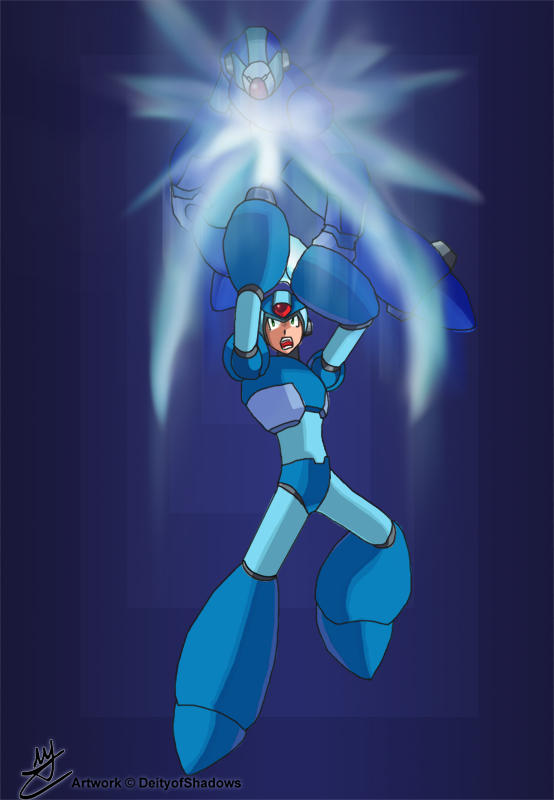 Mega Man X by Hakuramen