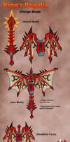 MH4U- Charge Blade- King's Regalia