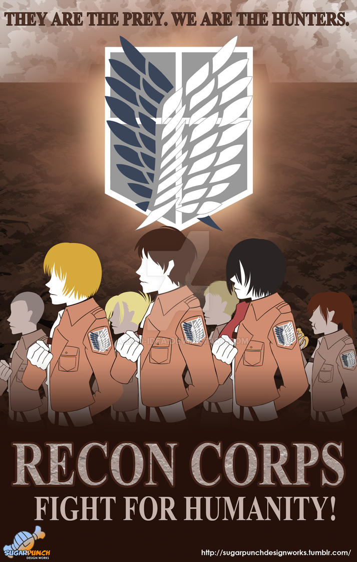 Attack on Titan: Recon Corps. by a-bad-idea
