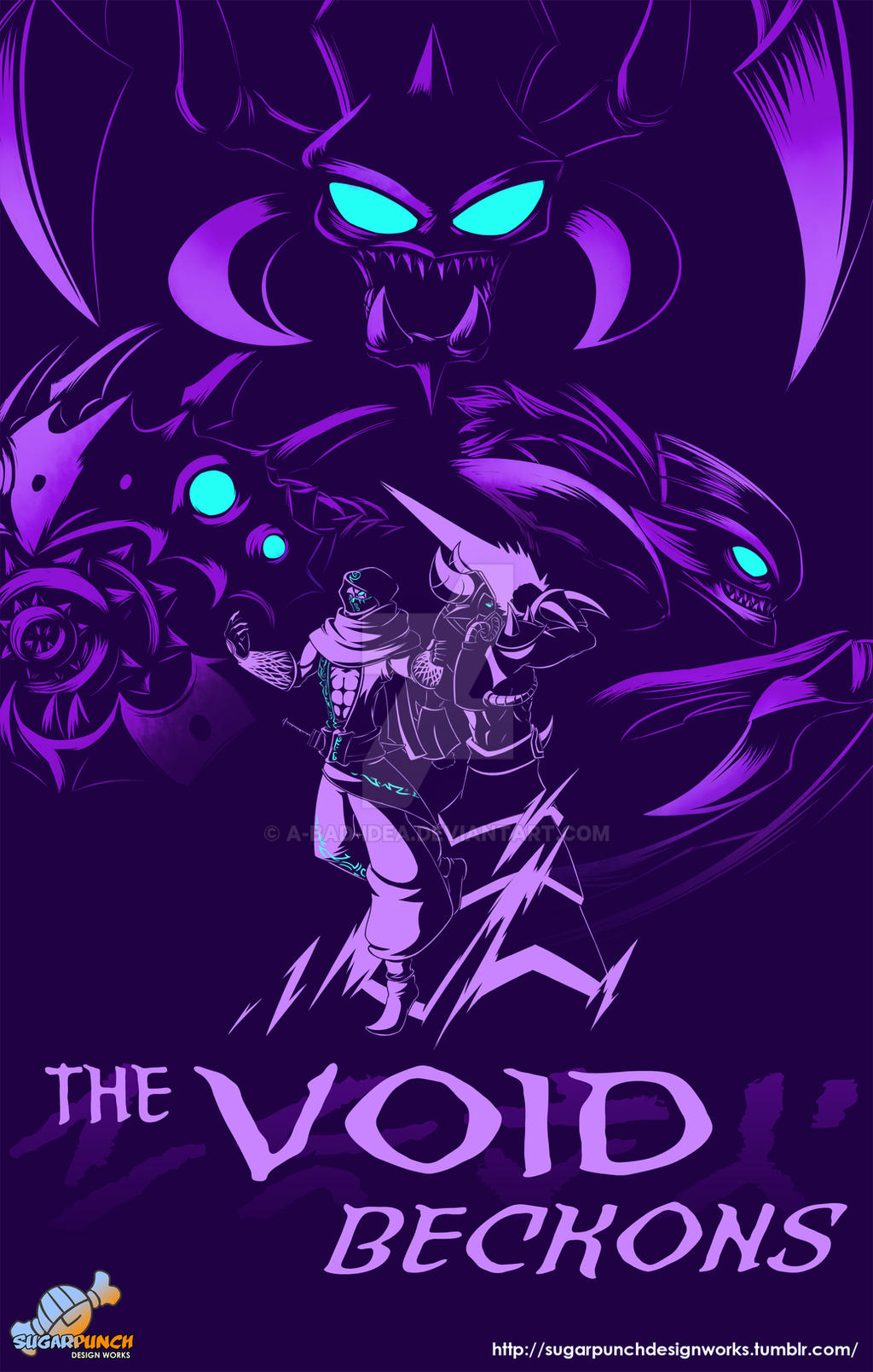 Valoran War Posters: The Void by a-bad-idea