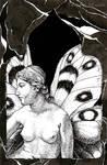 Parnassius Titania by TempestErika