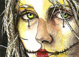 Scarecrow Girl ATC by TempestErika